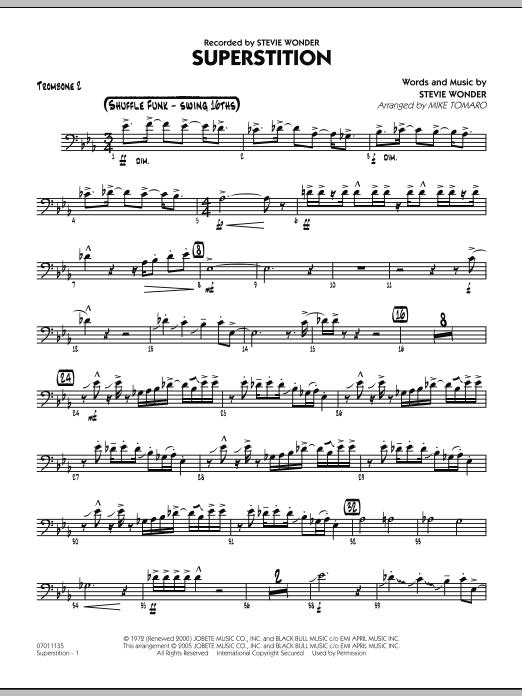 Superstition - Trombone 2 (Jazz Ensemble)