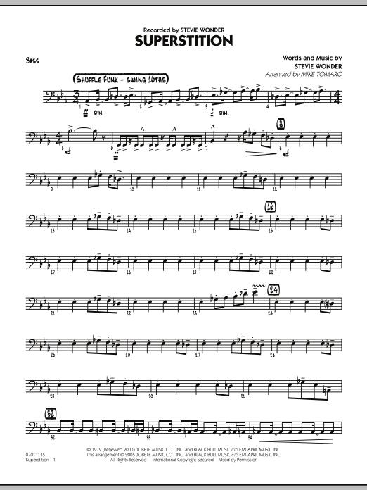 Superstition - Bass (Jazz Ensemble)