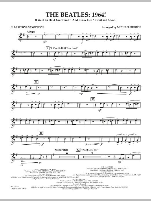 The Beatles - 1964! - Eb Baritone Saxophone (Concert Band)