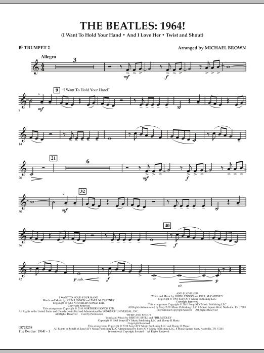 The Beatles - 1964! - Bb Trumpet 2 (Concert Band)