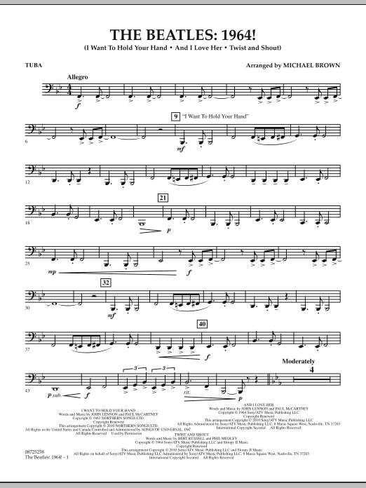The Beatles - 1964! - Tuba (Concert Band)