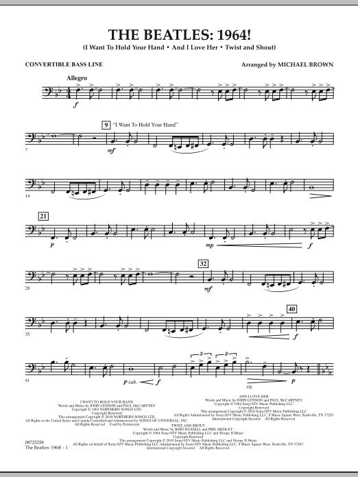 The Beatles - 1964! - Convertible Bass Line (Concert Band)