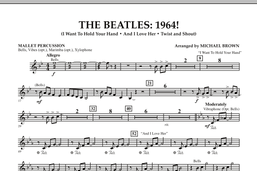 The Beatles - 1964! - Mallet Percussion (Concert Band)