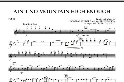 Ain't No Mountain High Enough - Flute (Concert Band)