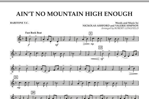 Ain't No Mountain High Enough - Baritone T.C. (Concert Band)