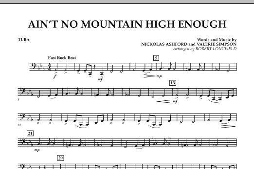 Ain't No Mountain High Enough - Tuba (Concert Band)