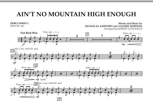 Ain't No Mountain High Enough - Percussion 1 (Concert Band)