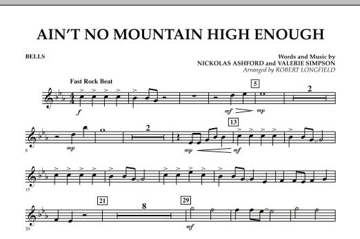 Ain't No Mountain High Enough - Bells (Concert Band)