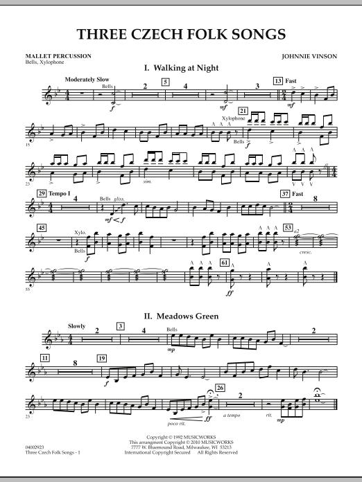 Three Czech Folk Songs - Mallet Percussion (Flex-Band)