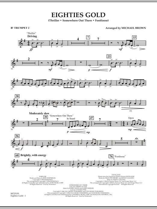 Eighties Gold - Bb Trumpet 2 (Concert Band)