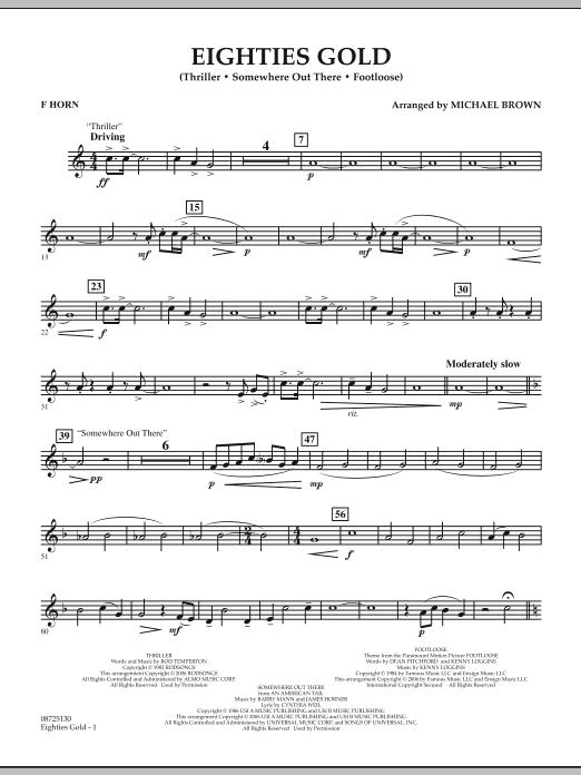 Eighties Gold - F Horn (Concert Band)