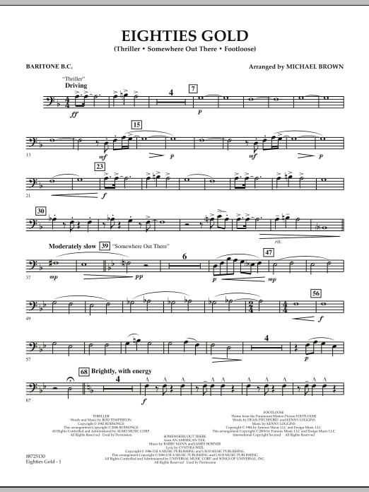 Eighties Gold - Baritone B.C. (Concert Band)