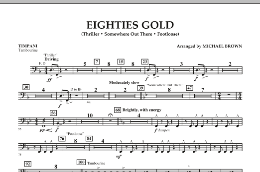 Eighties Gold - Timpani (Concert Band)