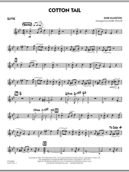 Cotton Tail - Guitar (Jazz Ensemble)