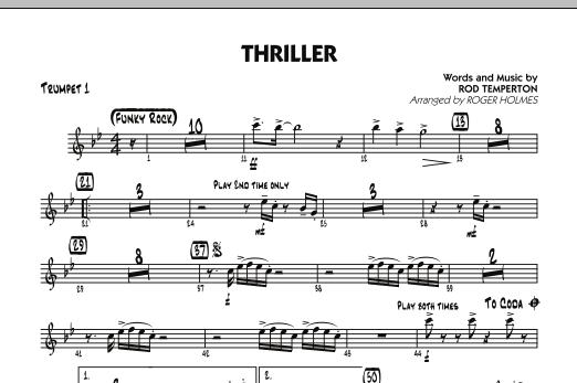 Thriller - Trumpet 1 (Jazz Ensemble)