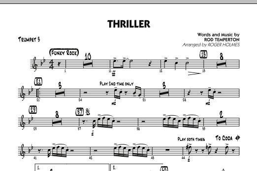 Thriller - Trumpet 3 (Jazz Ensemble)