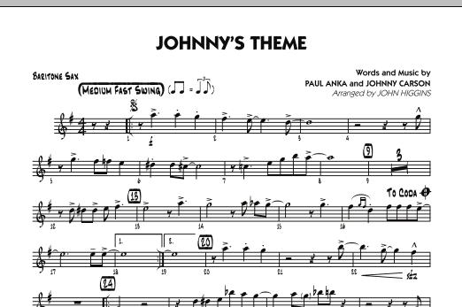 Johnny's Theme (from The Tonight Show) - Baritone Sax (Jazz Ensemble)