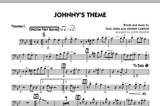 Johnny's Theme (from The Tonight Show) - Trombone 2 (Jazz Ensemble)