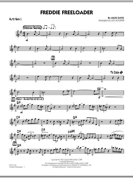 Freddie Freeloader - Alto Sax 1 (Jazz Ensemble)
