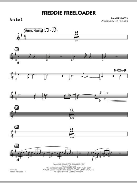 Freddie Freeloader - Alto Sax 2 (Jazz Ensemble)