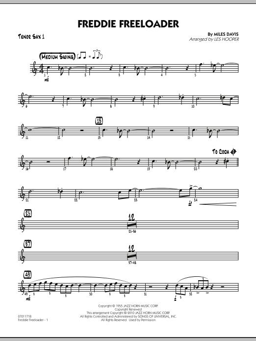 Freddie Freeloader - Tenor Sax 1 (Jazz Ensemble)
