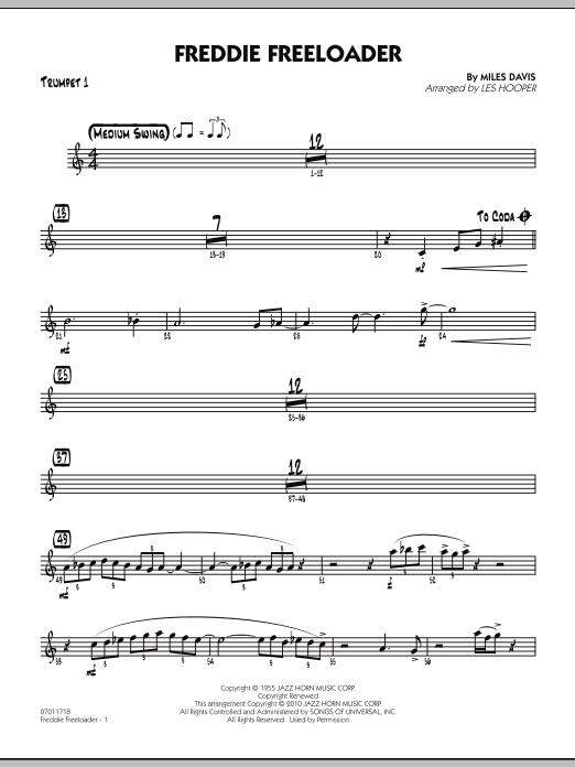 Freddie Freeloader - Trumpet 1 (Jazz Ensemble)
