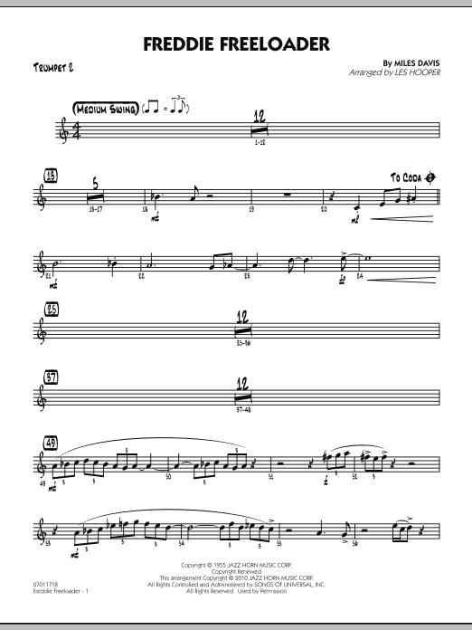 Freddie Freeloader - Trumpet 2 (Jazz Ensemble)