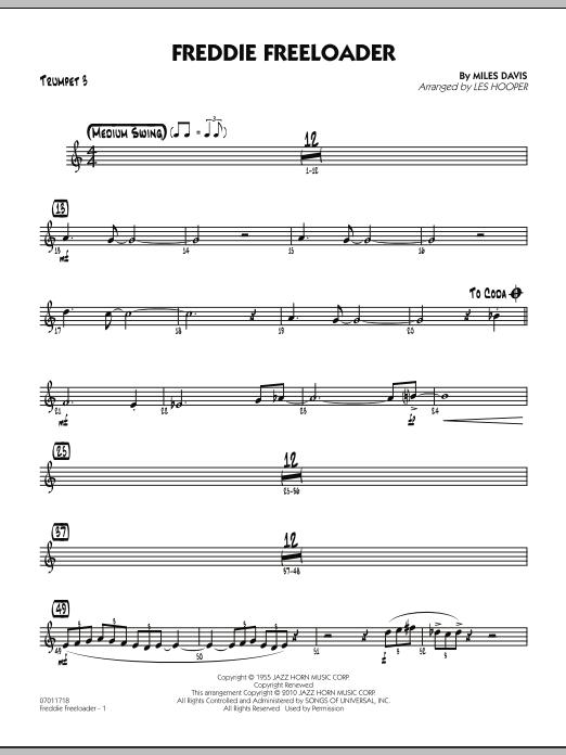 Freddie Freeloader - Trumpet 3 (Jazz Ensemble)