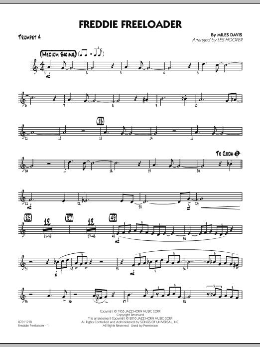 Freddie Freeloader - Trumpet 4 (Jazz Ensemble)