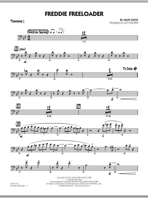 Freddie Freeloader - Trombone 1 (Jazz Ensemble)