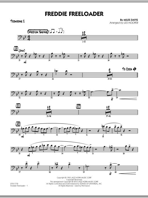 Freddie Freeloader - Trombone 2 (Jazz Ensemble)