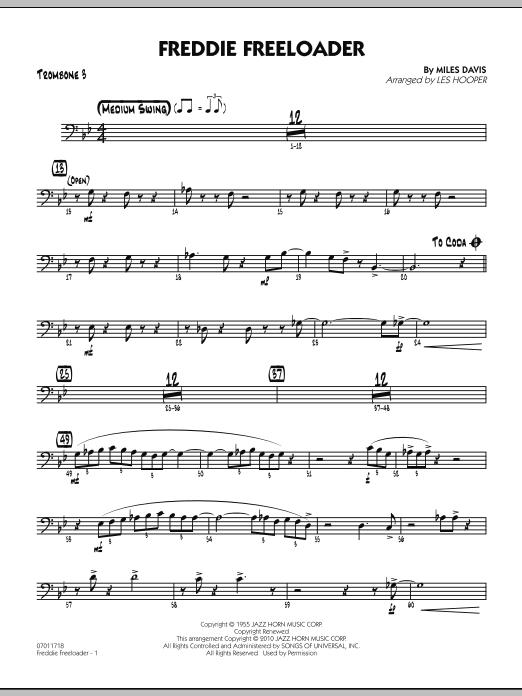 Freddie Freeloader - Trombone 3 (Jazz Ensemble)