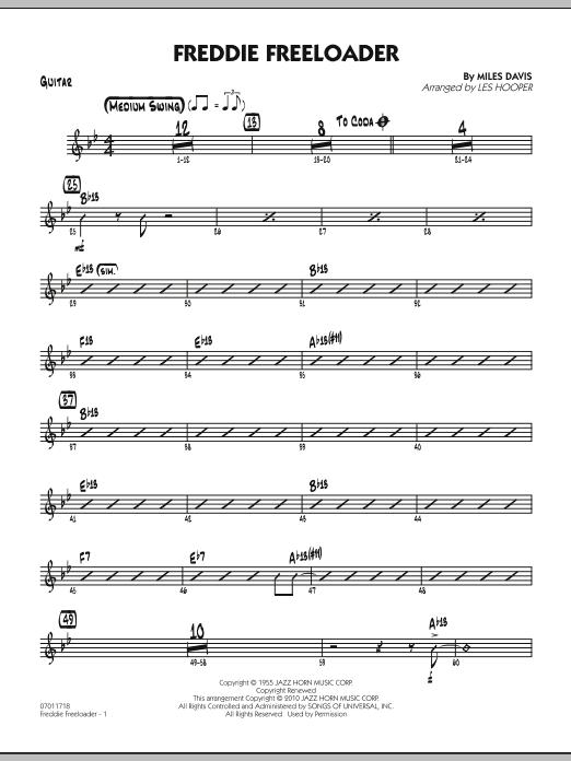 Freddie Freeloader - Guitar (Jazz Ensemble)
