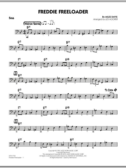 Freddie Freeloader - Bass (Jazz Ensemble)