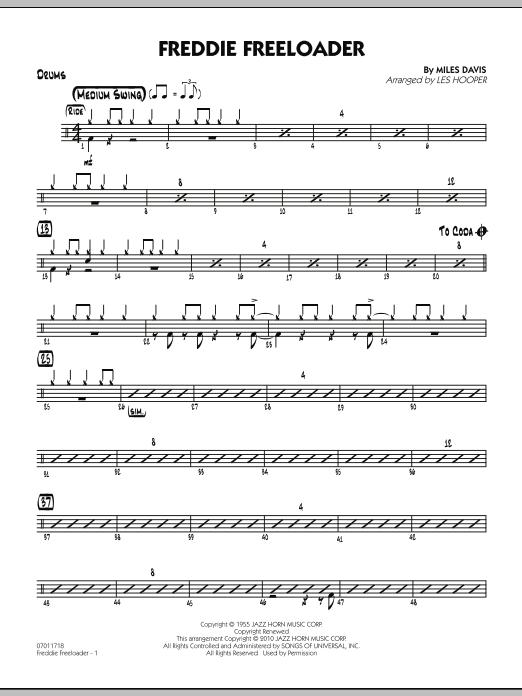 Freddie Freeloader - Drums (Jazz Ensemble)