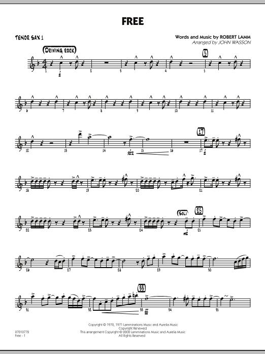 Free - Tenor Sax 1 (Jazz Ensemble)