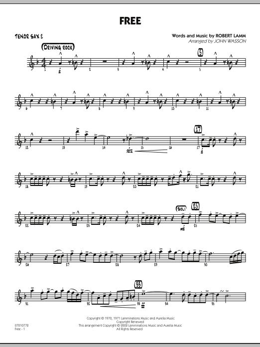 Free - Tenor Sax 2 (Jazz Ensemble)