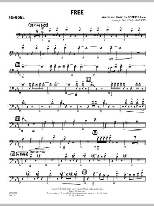 Free - Trombone 1 (Jazz Ensemble)