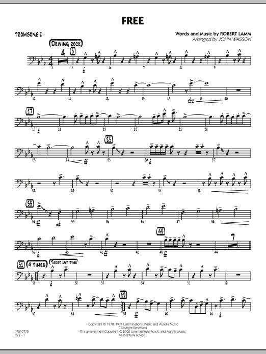 Free - Trombone 2 (Jazz Ensemble)