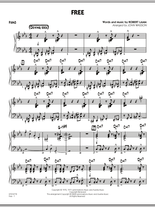 Free - Piano (Jazz Ensemble)