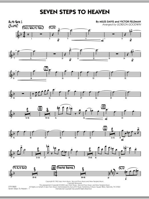 Seven Steps To Heaven - Alto Sax 1/Flute (Jazz Ensemble)