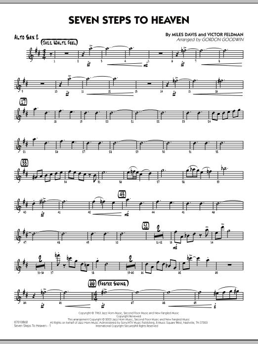 Seven Steps To Heaven - Alto Sax 2 (Jazz Ensemble)