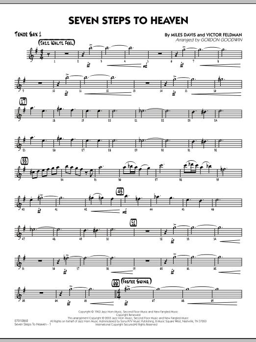 Seven Steps To Heaven - Tenor Sax 1 (Jazz Ensemble)