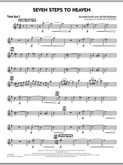 Seven Steps To Heaven - Tenor Sax 2 (Jazz Ensemble)