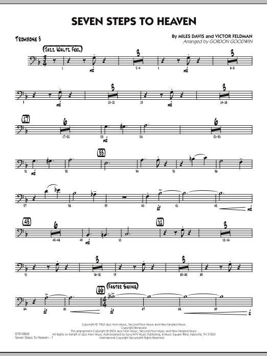 Seven Steps To Heaven - Trombone 3 (Jazz Ensemble)