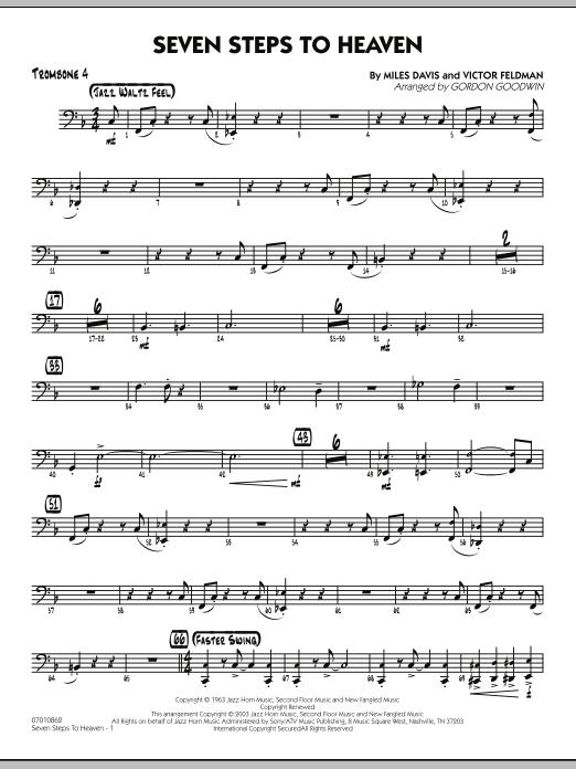 Seven Steps To Heaven - Trombone 4 (Jazz Ensemble)