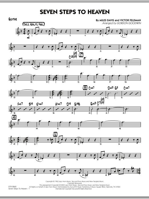 Seven Steps To Heaven - Guitar (Jazz Ensemble)
