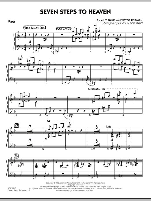 Seven Steps To Heaven - Piano (Jazz Ensemble)
