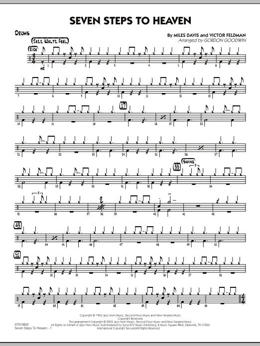 Seven Steps To Heaven - Drums (Jazz Ensemble)