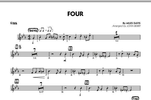 Four - Vibes (Jazz Ensemble)